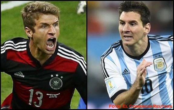 Europa Vs Suramérica: Alemania Vs Argentina, la final