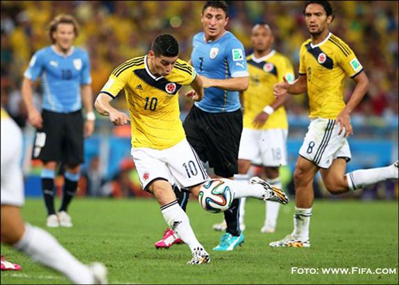 "Gol de James Rodríguez: ""El mejor del Mundial de Brasil"""