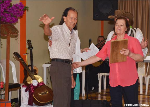 En Santuario rinden homenaje al músico Angel Osorio Echeverry