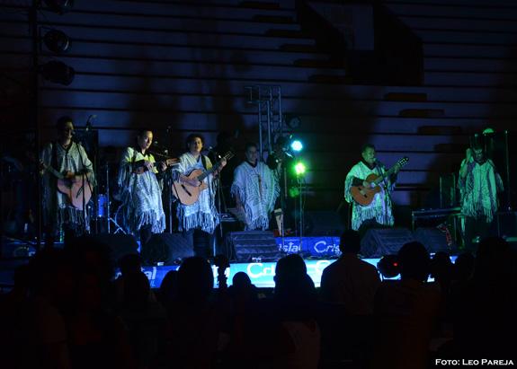 Los Kjarkas de Bolivia actuaron en Pereira en gira colombiana