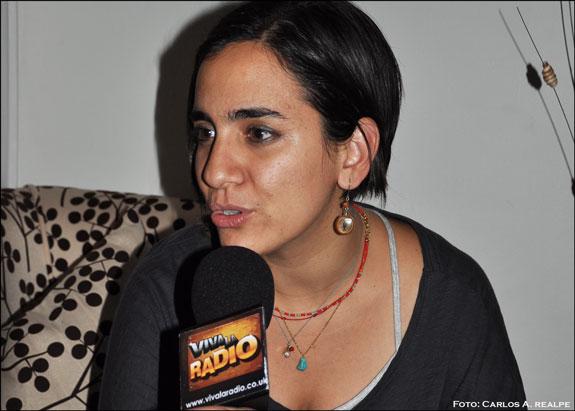 La cantante Marta Gómez con nuevo disco en gira por Colombia