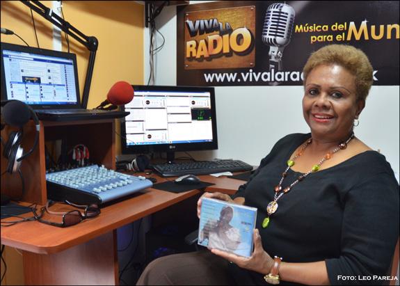 Amparo Plaza, una voz colombiana con salsa, bolero y son