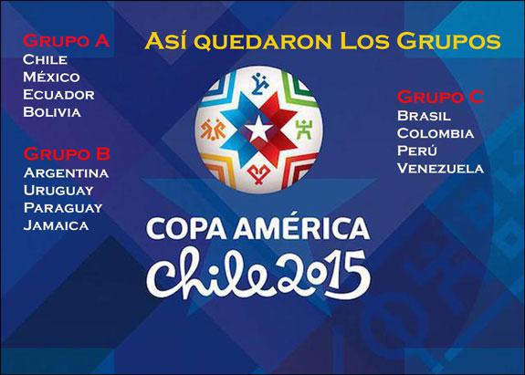 Colombia tendrá ´revancha´con Brasil en La Copa América de Chile