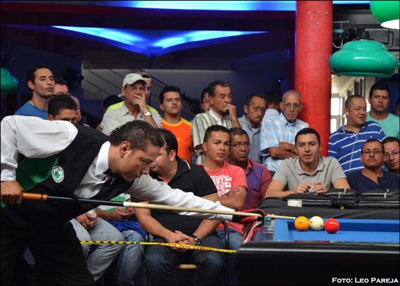 Los mejores billaristas participaron en torneo nacional en Pereira