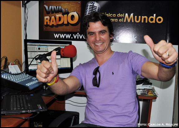 Félix Bernal, artista cubano invitado a eventos en Colombia