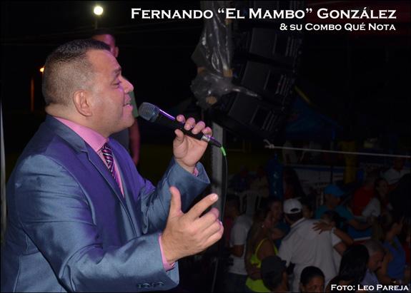 """Fernando """"El Mambo"""" González y su Combo Qué Nota"""
