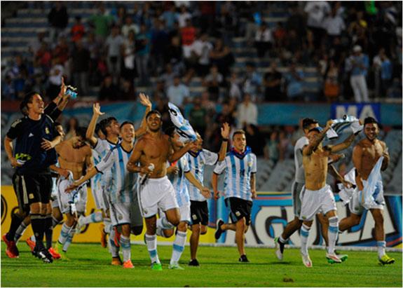 Argentina se coronó campeón del Sudamericano Sub 20