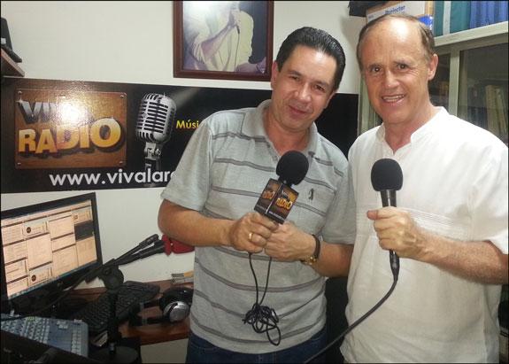 El escritor y conferencista Gonzalo Gallo visitó Viva La Radio