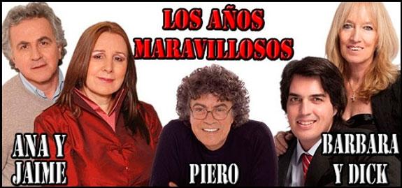 Febrero 28: Piero, Bárbara y Dick y Ana y Jaime en Pereira