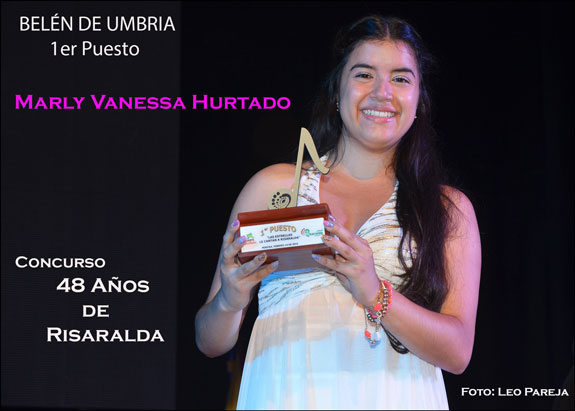 Belén de Umbría gana concurso departamental de canto