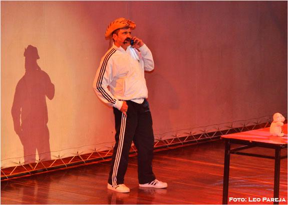 """'El Cabo' """"mató de la risa"""" a los pereiranos en su show"""