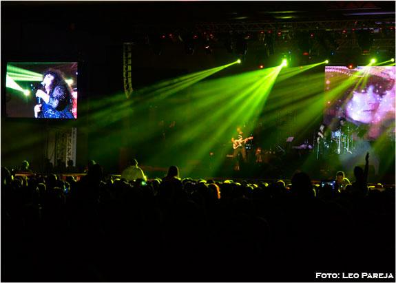 Pereira vivió vibrante y multitudinario concierto de 'La Plancha'