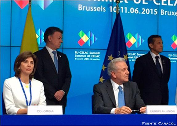 Confirman eliminación visa Schengen para colombianos y peruanos