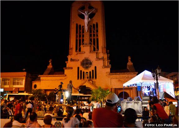 El Ventanal de Los Recuerdos grabó musical de TV en Quimbaya