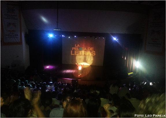 """La """"Pelota de Letras"""" del comediante Andrés López cumple 10 años"""