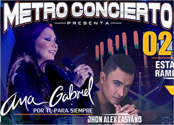 Pereira prepara concierto con Ana Gabriel y artistas invitados