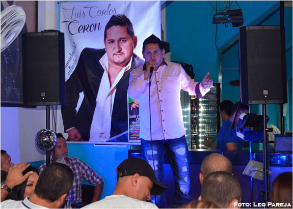 El cantante Luis Carlos Cerón ofreció noche vallenata en Pereira