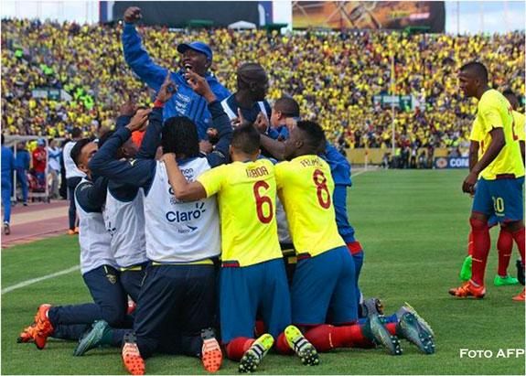 Rusia 2018: Ecuador líder en eliminatorias y Colombia no levanta
