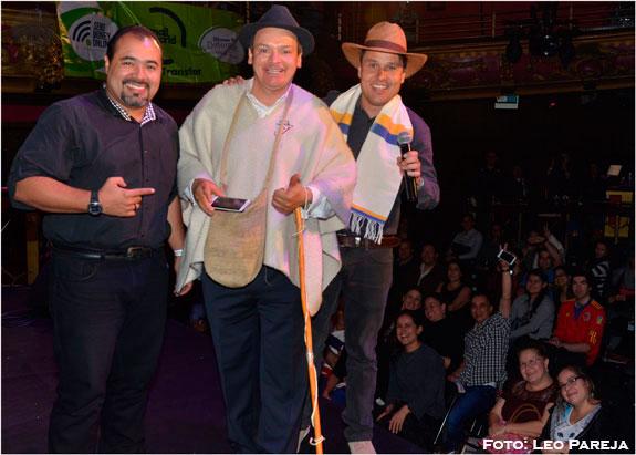 Risaloca, Don Jediondo y Caneca actuaron en Londres