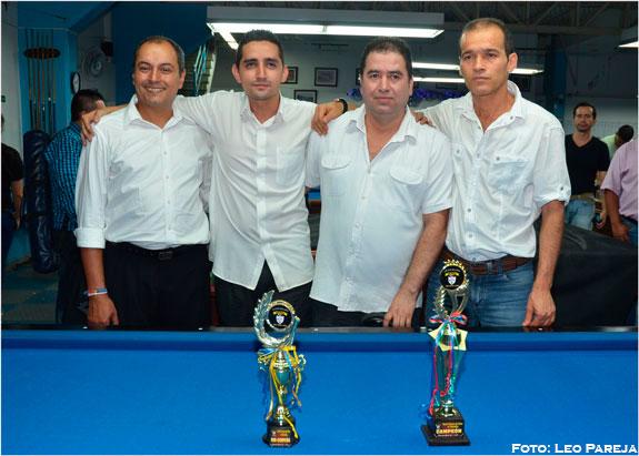 Con torneo y fiesta, Club de Billares Continental celebró navidad