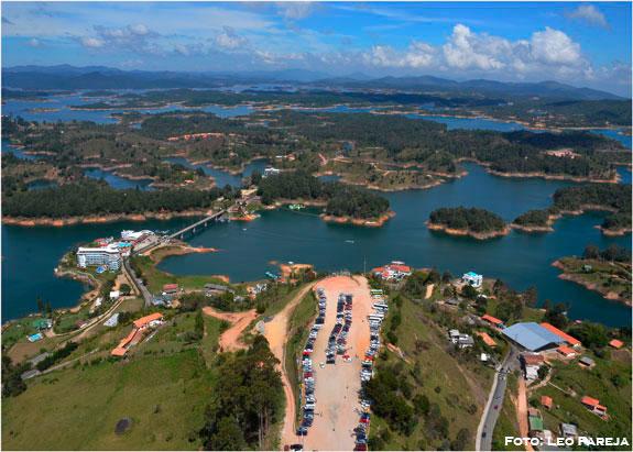 El Peñol y Guatapé, bellezas turísticas y naturales de Colombia