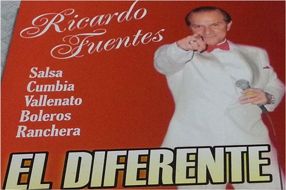 El bolerista colombiano Ricardo Fuentes presenta álbum inédito