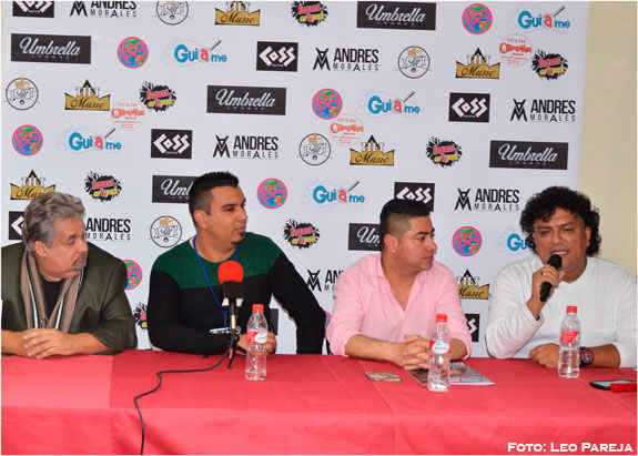 Con rueda prensa el cantante Germaín inicia gira debut por España