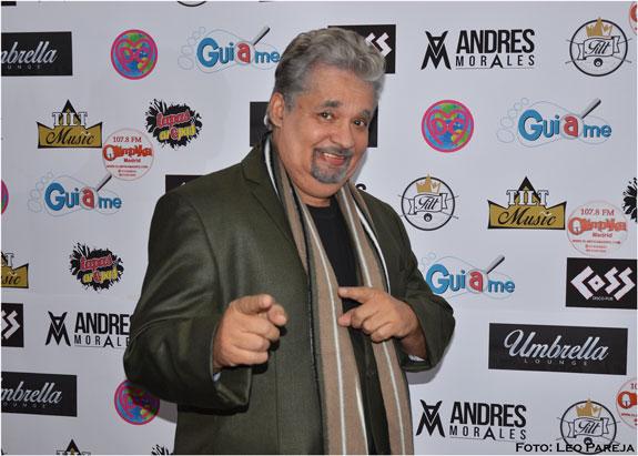 El salsero Nino Segarra prepara producciones de salsa, boleros y baladas