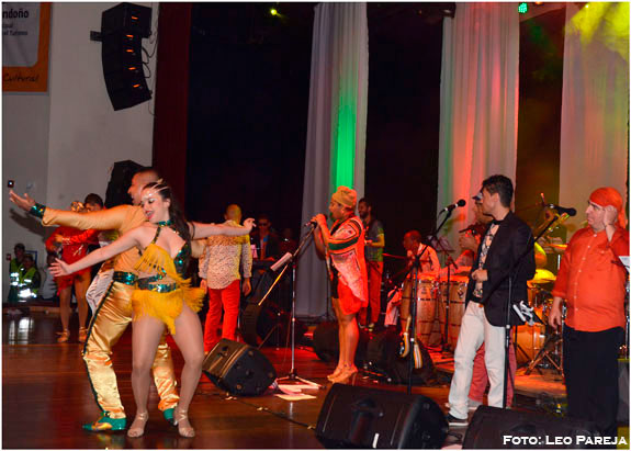 Sensacional la Orquesta Papá Bocó en homenaje a Fania All Stars en Pereira