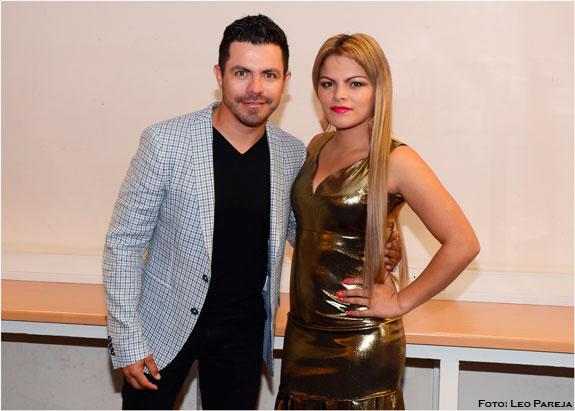 Piter Albeiro y Alejandra 'La Diva' ovacionados en Londres