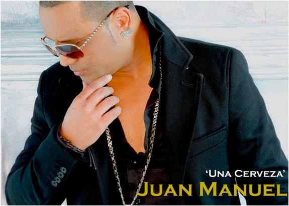El cantante dominicano Juan Manuel promociona su sencillo 'Una cerveza'