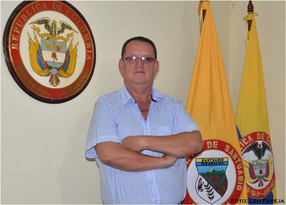 """Everardo Ochoa: """"Ha sido difícil pero se están viendo los proyectos en Santuario"""""""