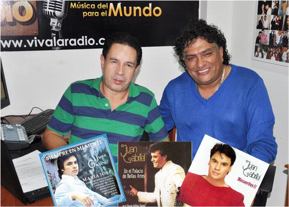 Con Germaín, Viva La Radio realizó 'Homenaje Póstumo´ a Juan Gabriel