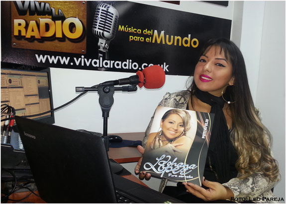 """Johana López, cantante: """"Vienen cosas muy lindas en mi próximo trabajo"""""""