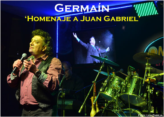 Germaín 'El Juan Gabriel Colombiano' rinde homenajes a Juan Gabriel