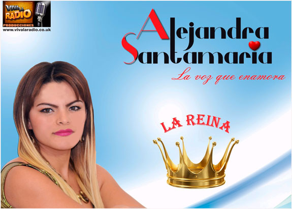 Estreno musical primer álbum: Llegó 'La Reina' de Alejandra Santamaría