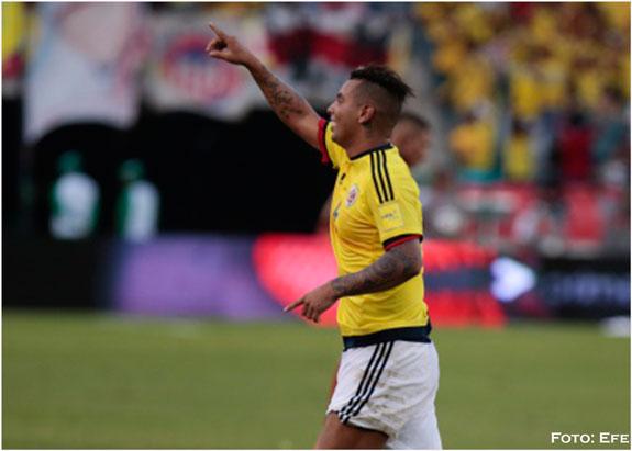 Colombia consiguió agónica victoria; Uruguay sigue líder en las eliminatorias