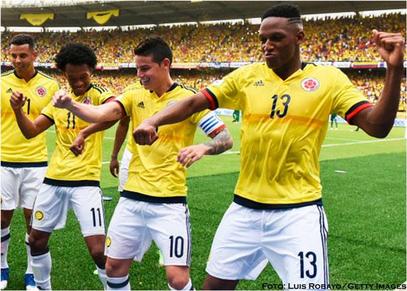 Brasil y Colombia hicieron el pleno en la doble jornada rumbo a Rusia 2018