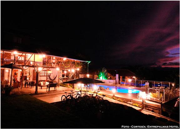 Entrepalmas Casa-Hotel, un paraíso para el descanso en el Eje Cafetero de Colombia