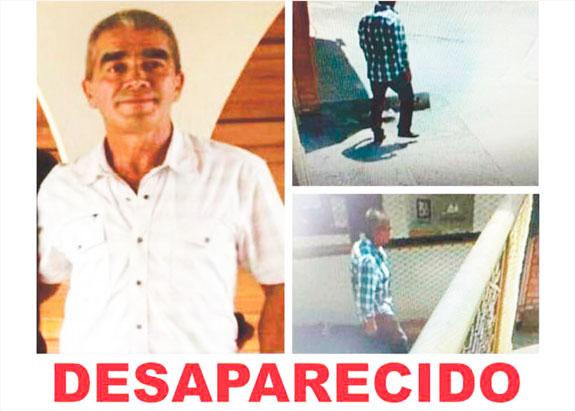 SE BUSCA: intensifican búsqueda de Huberto Arroyave, desaparecido desde el 27 de enero