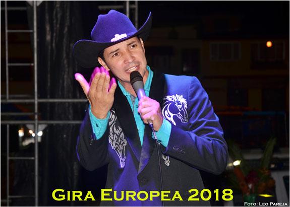 El cantante Franco Fernández, inicia gira europea