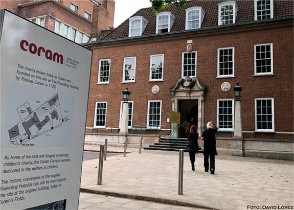En Londres: Coram Fundation, un lugar de historia, trabajo y dedicación