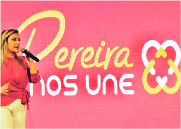 Carolina Bustamante, de 'Pereira Nos Une': 'Una transformación social incluyente'