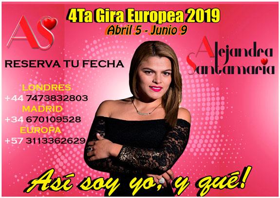 Alejandra Santamaría abrió en Londres su 4ta Gira Europea y con nuevo disco