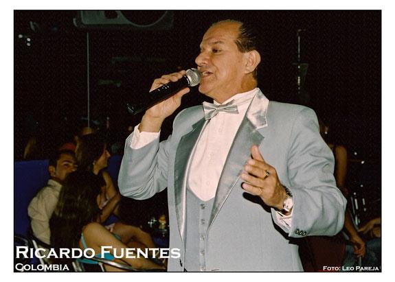 Luto en la Música de Colombia: El bolerista Ricardo Fuentes, fallece de un infarto