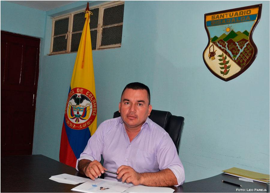 """Adrián Bedoya Cano, alcalde de Santuario: """"Queremos un gobierno de participación ciudadana""""."""
