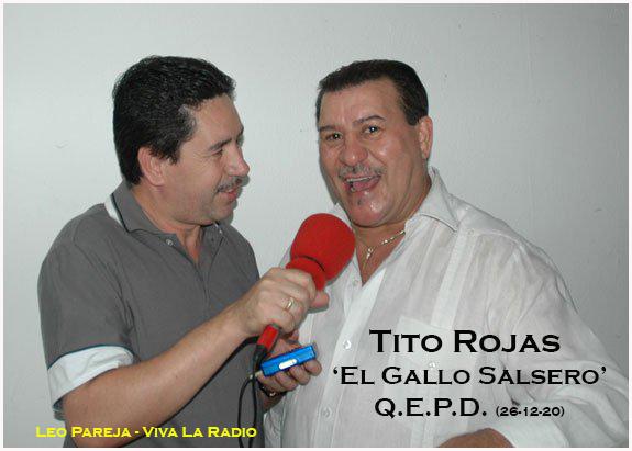 """Falleció el salsero puertorriqueño Tito Rojas, 'El Gallo de la Salsa"""""""